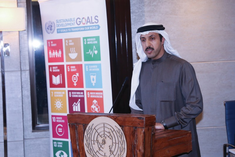 Under the patronage of Dr. Shaikh Abdullah bin Ahmed Al Khalifa, Undersecretary for International Affairs, Ministry of Foreign Affairs honoured the winners of international peace day speech writing contest at the UN House.