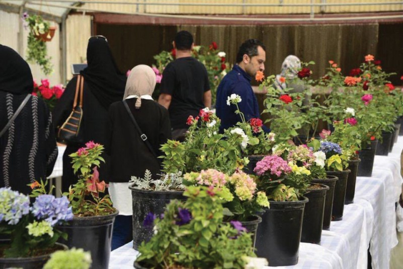 The first edition of the flower show opened in Hoorat A'ali area on March 24, 2017. It showcased a wide variety of local roses and flowers. The exhibition is organised in cooperation between the National Initiative for Agricultural Development and Agriculture and Marine Resources Directorate in Works, Municipalities Affairs and Urban Planning Ministry.