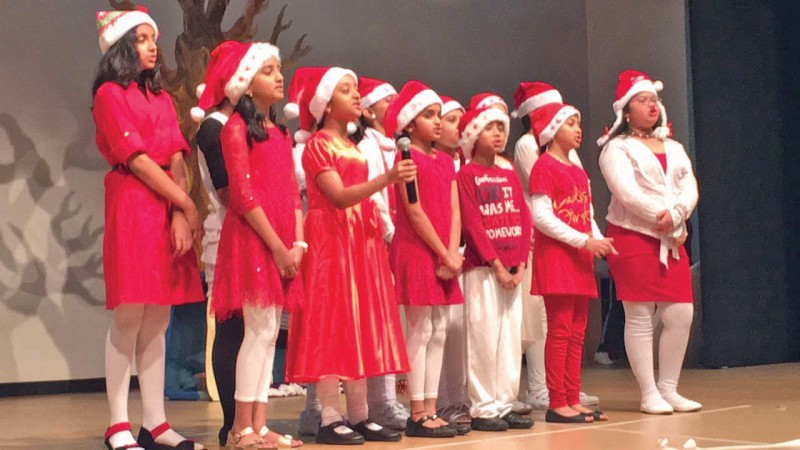 The students and staff of New Millennium School-DPS Bahrain celebrated Christmas with Special Assemblies arranged at its campus. Christmas carols and colourful dance were presented by students as part of the celebrations.