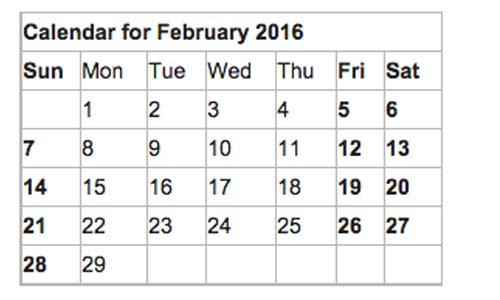 4 weekends this February… happens once every 823 years? | DT News ...