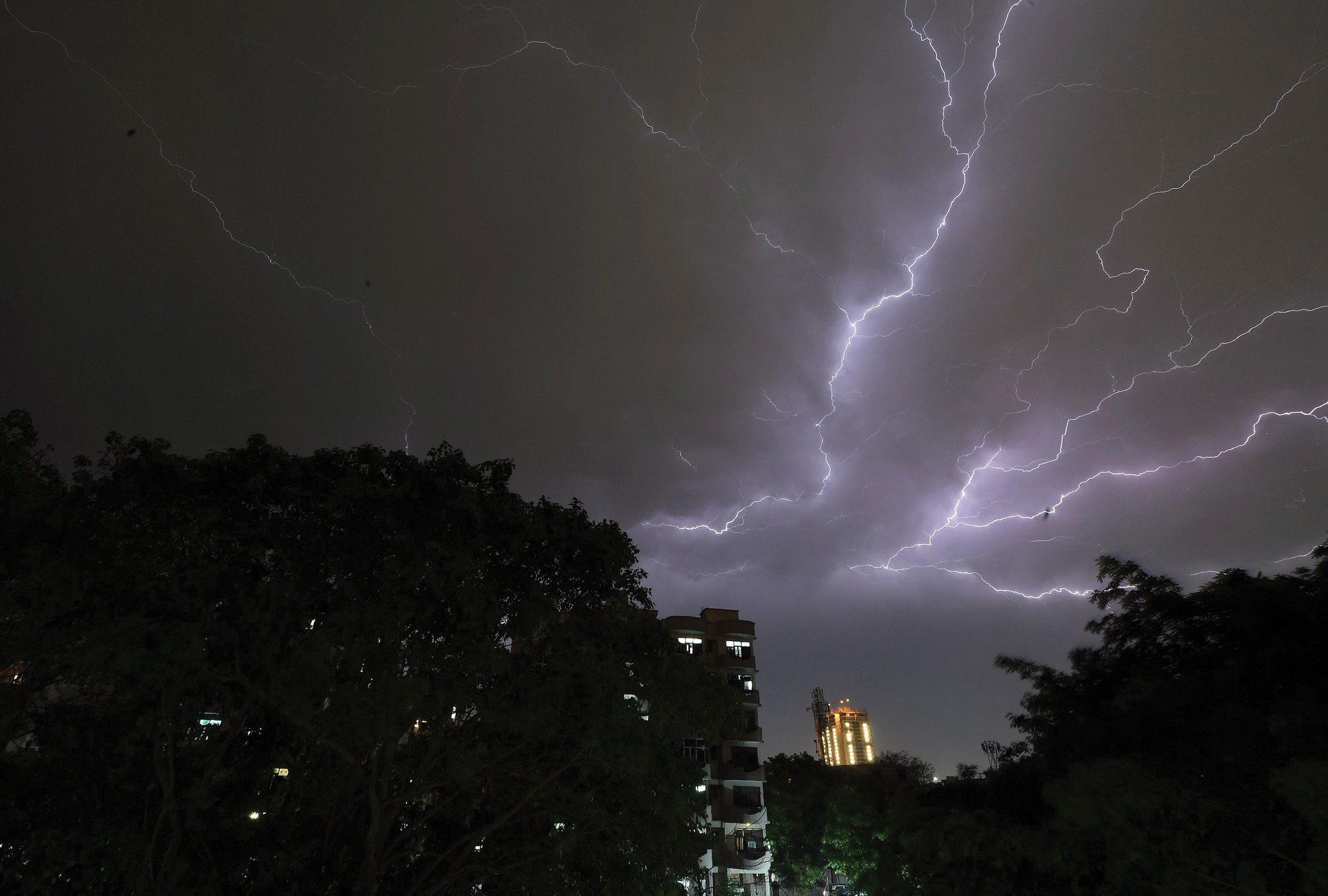 India's MET dept. predicts thunderstorm for several states