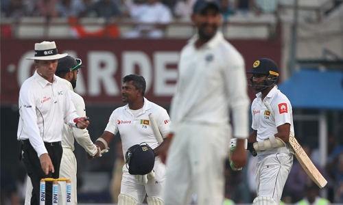 Sri Lanka escape with draw
