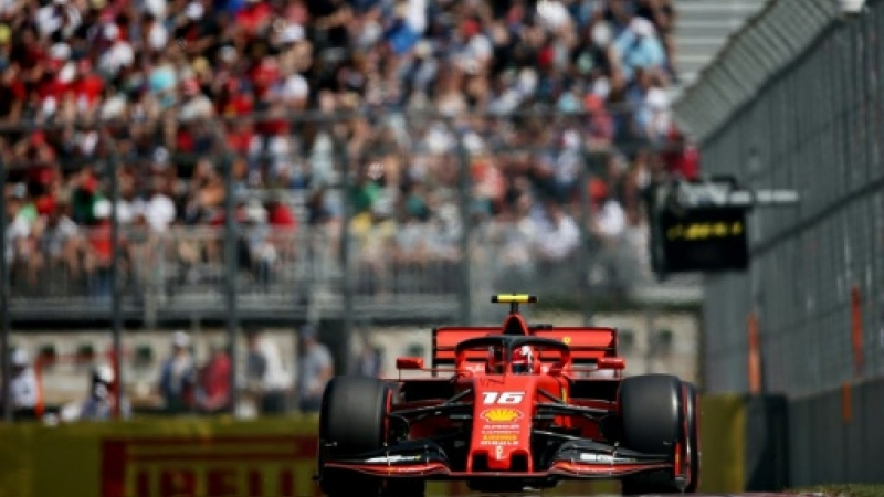 Leclerc on top as Ferrari rebound after Hamilton puncture