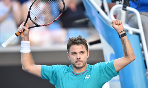 Wawrinka downs Seppi in three tight sets
