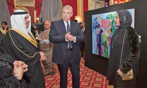Bahrainis display their talents in London