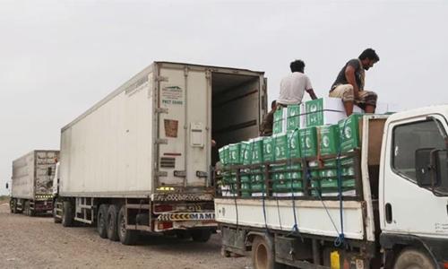 Aid agency distributes Eid gifts in Yemen