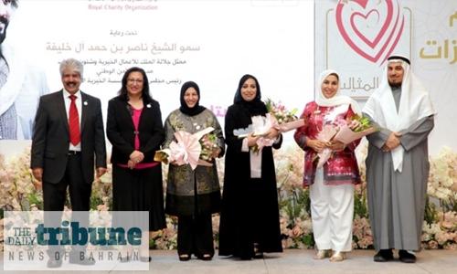 'Brave model mothers' honoured