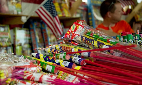 Man arrested for selling firecrackers online