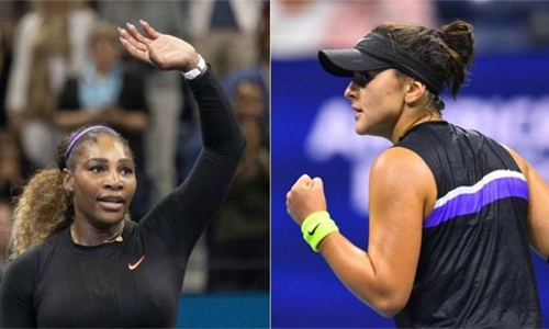 Serena to meet Andreescu for title