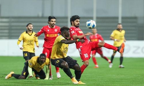 Ahli upset Muharraq with Khalib rocket