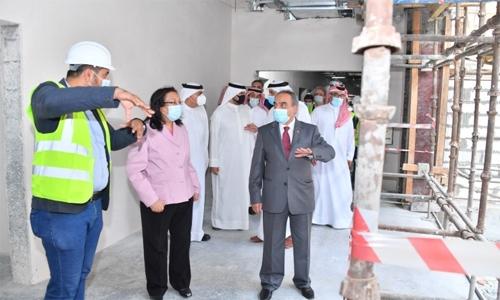 Muharraq Medical Complex work in progress