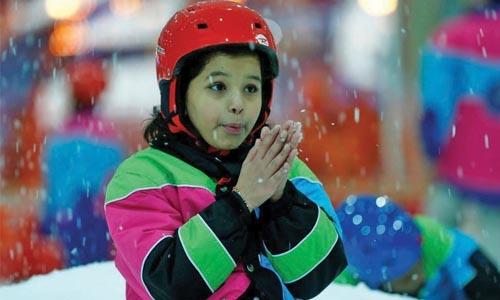 Snow fall changing  Saudi  economic  landscape