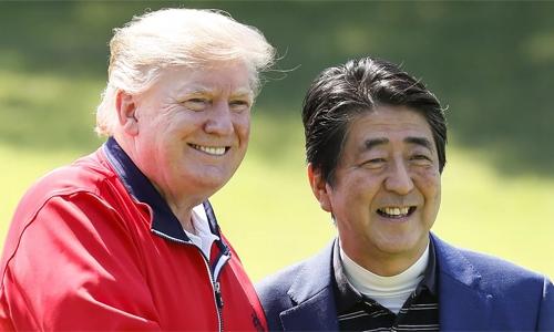 Japan's Abe heads to Iran