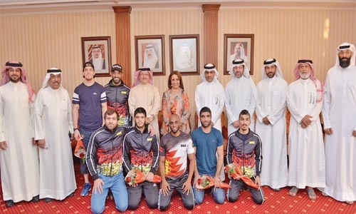 Warm welcome for KHK MMA team