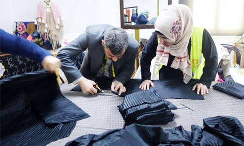 Saudi women's social enterprise protects Syrian refugees from hunger, thirst and loneliness