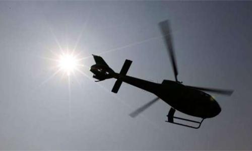 Power down on Greek island after chopper crash