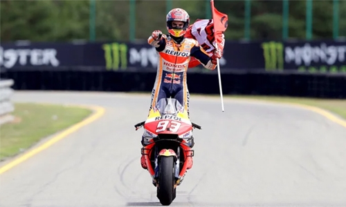 Marquez extends lead with 50th career race win at Czech MotoGP