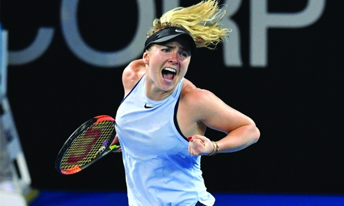 Svitolina made it to the semifinals of the tournament in Brisbane