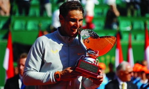 Nadal clinches record 11th title in Monaco