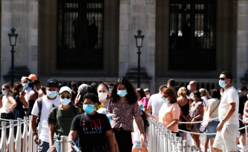 Paris imposes face mask order for outdoor markets