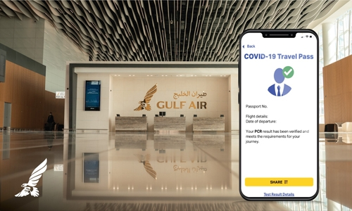Gulf Air begins IATA travel pass trial on London, Athens and Singapore flights