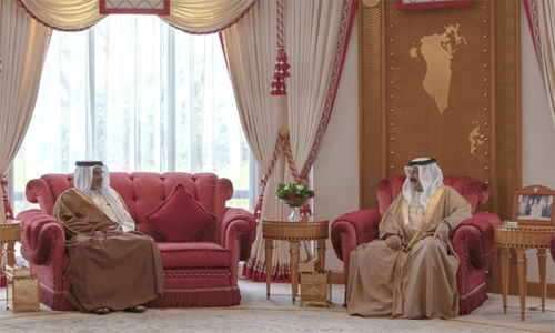 HM King wishes HRH Crown Prince and Prime Minister success in assuming patriotic responsibilities