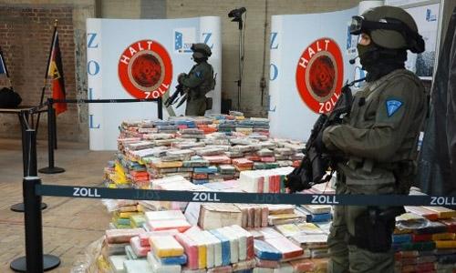Germany nets record 3.8-tonne cocaine haul