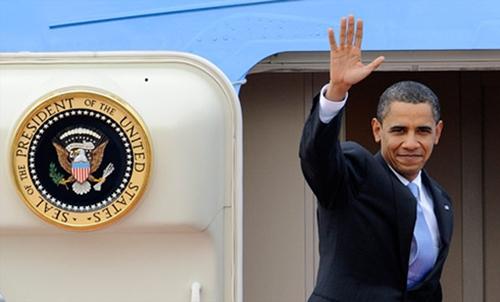 Obama in Saudi on fence-mending visit