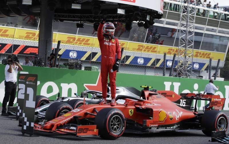 Leclerc grabs Monza pole