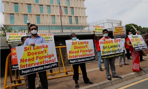 China tells US not to bully Sri Lanka ahead of Pompeo's visit
