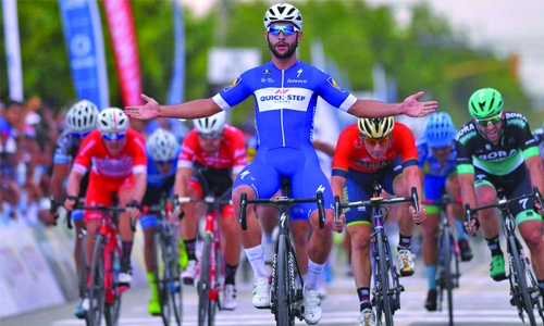 Gaviria clinches opening stage