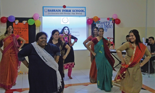 Fun frolic day at Bahrain Indian School