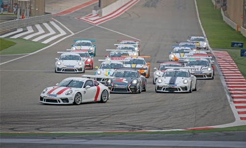 Oman's AL-Zubair moves closer to GT3 ME title