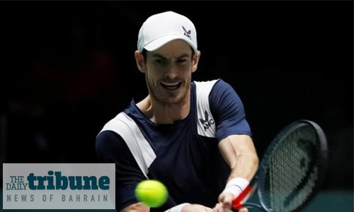 Murray's training interrupted by injury