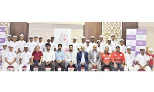 Bahrain U16 cricket team to tour Oman