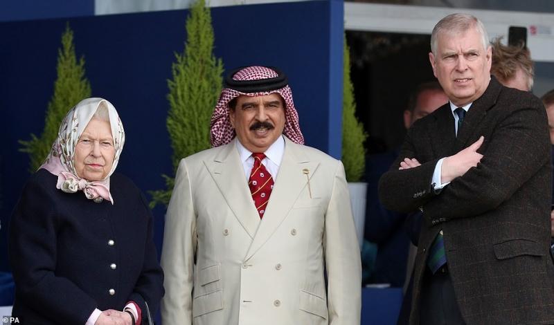King attends Royal Windsor Horse Show