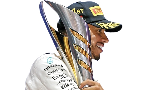 Hamilton's miracle win in Singapore