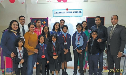 Bahrain Indian School excels in Bhavans' GCC Spell Bee