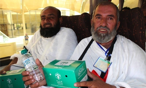 327m meals, bottles of water distributed