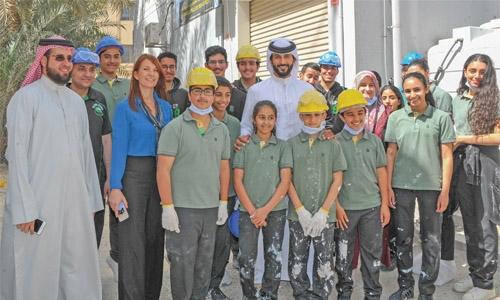 Shaikh Nasser hails Rvia housing rehab programme