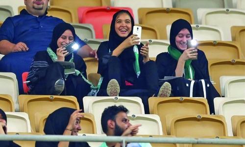 Saudi women takes a new step