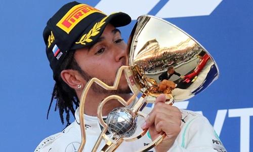 Mercedes one-two win down to teamwork: Lewis Hamilton
