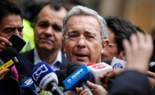 Colombia's Supreme Court orders house arrest for ex-president