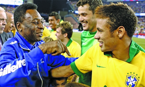 Pele confident Neymar can lead Brazil at WC
