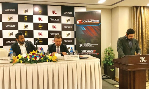 KHK MMA and Brave Combat Federation unveil K Hotel as partner