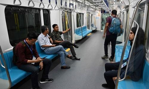 Jakarta opens mass rapid transit system