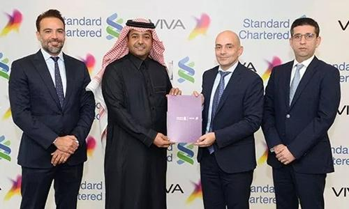 VIVA, StanChart launch Mastercard, fin services