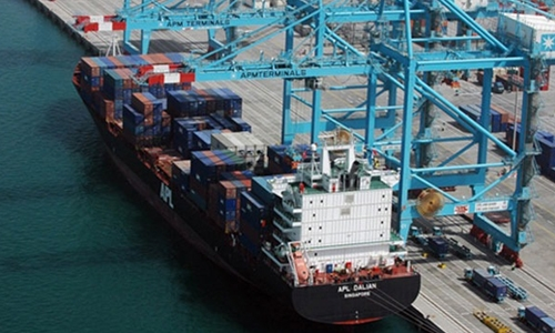 Bahrain's value of exports of national origin increases by 103%