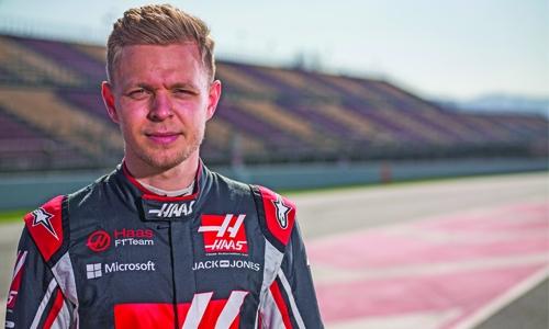 Magnussen felt 'negative pressure' before Haas