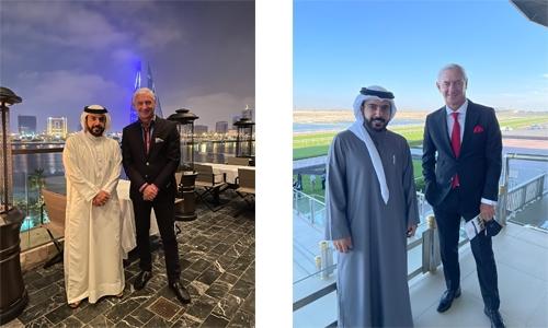 All-time Liverpool great Ian Rush visits Bahrain